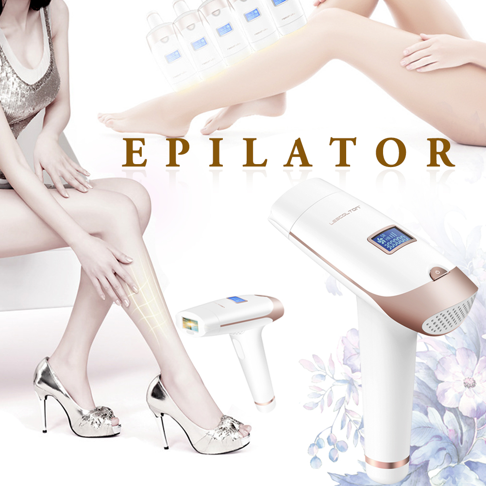 Portable Handheld IPL Laser Hair Removal Machine Epilator Permanent Trimmer Electric Depilador For Adult Body Face 3