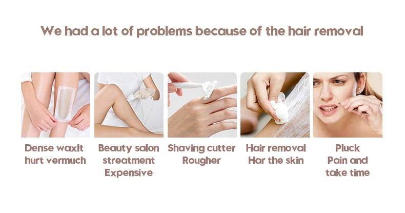 3in1 700000 pulsed IPL Laser Hair Removal Device Permanent Hair Removal IPL laser Epilator Armpit Hair Removal machine 2