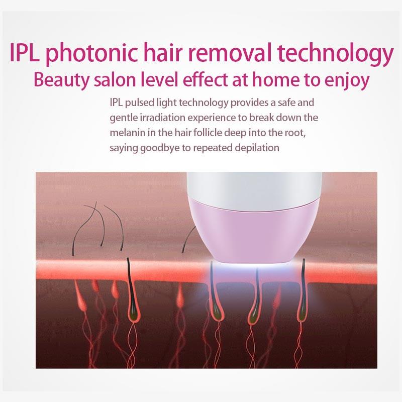 Laser Depilator IPL Epilator Permanent Hair Removal Touch Body Leg Bikini Trimmer Photoepilator For Women 13
