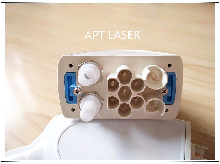 IPL connector for IPL hair removal machine SHR E-light laser handle 2pcs 2