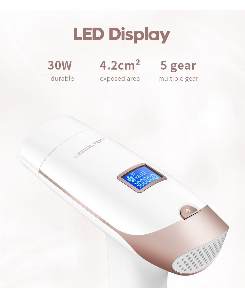 3in1 700000 pulsed IPL Laser Hair Removal Device Permanent Hair Removal IPL laser Epilator Armpit Hair Removal machine 8