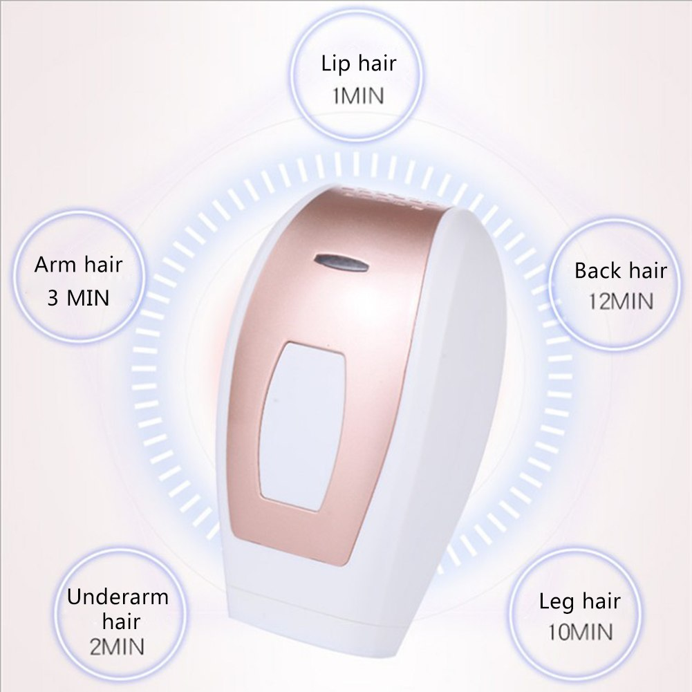 Laser hair removal instrument Freezing epilator Unisex body underarm leg hair lip hair 3