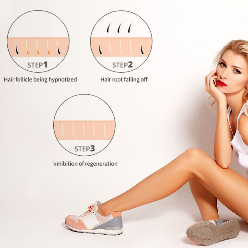 Hair Removal Laser Hair Removal Permanent Thermal Hair Removal Bikini Trimmer Electric Hair Removal Instrument 2