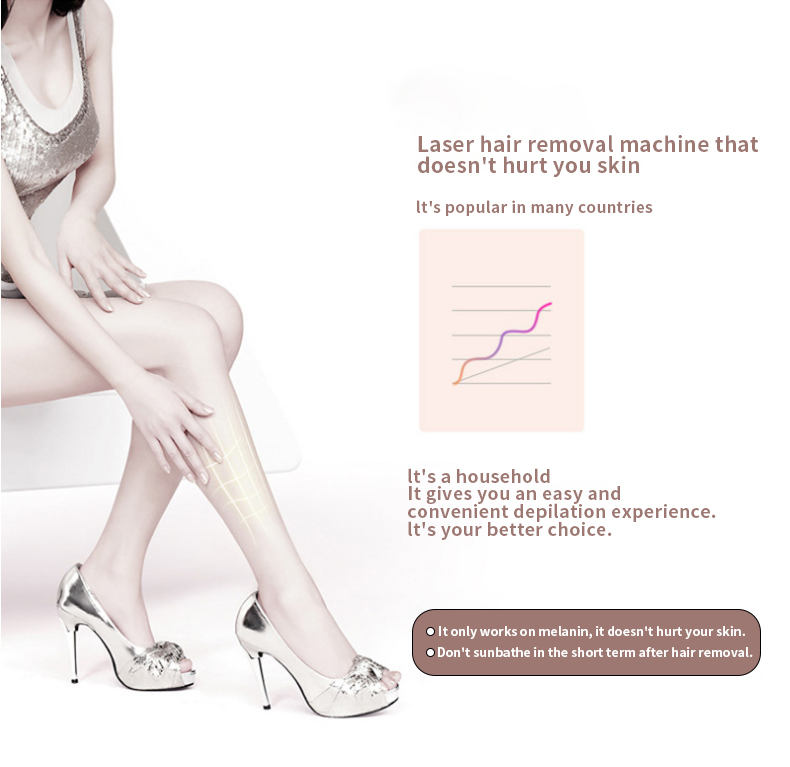 3in1 700000 pulsed IPL Laser Hair Removal Device Permanent Hair Removal IPL laser Epilator Armpit Hair Removal machine 6