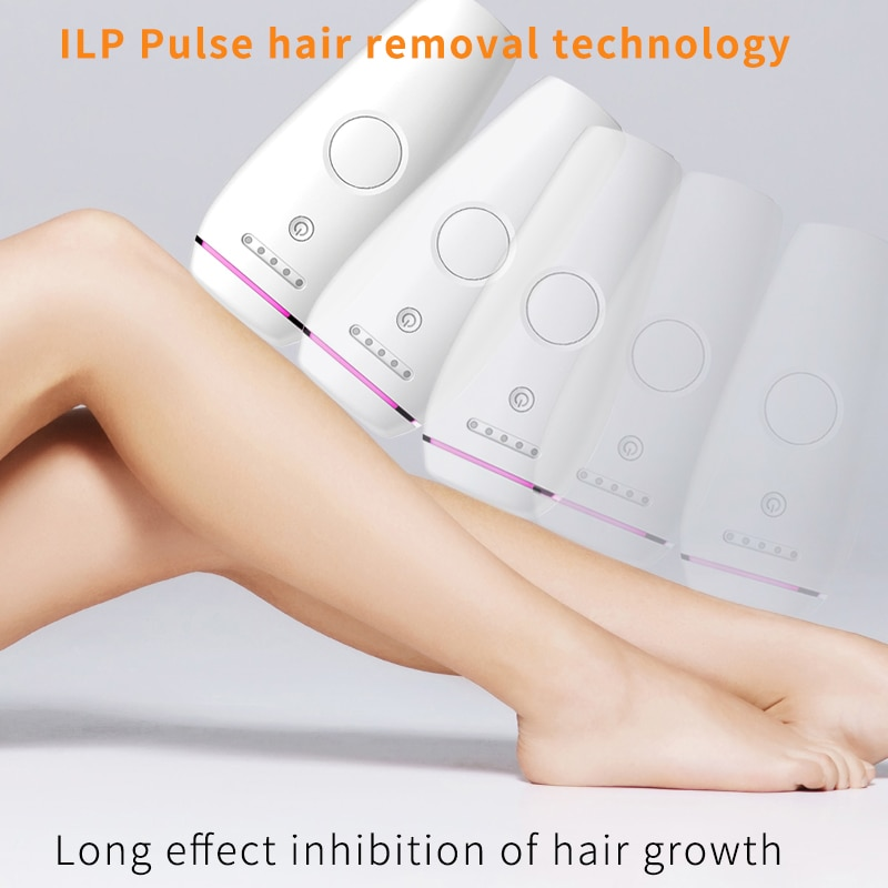 Laser Depilator Permanent Hair Removal IPL Epilator Touch Body Leg Bikini Trimmer Photoepilator For Women 3