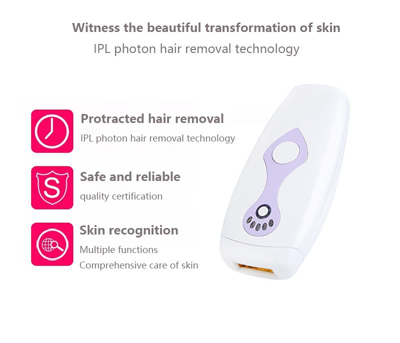 IPL Laser Hair Removal Machine Laser Epilator Hair Removal Permanent Bikini Body 500000 Pulsed Depilador 7