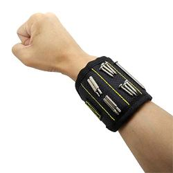 Magnetic Screws Wristband Super Strong 3 Rows Magnet Tool