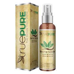 TruePure Biotin Hair Growth Serum - Hair Loss Prevention Treatement