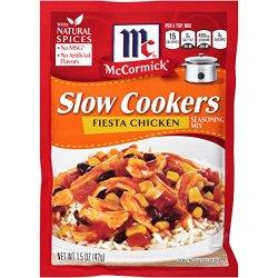 McCormick Slow Cookers Fiesta Chicken Seasoning Mix