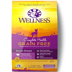 Wellness Complete Health Natural Grain Free Dry Small Breed Dog Food