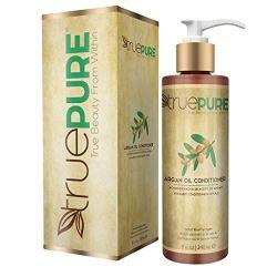 TruePure Argan Oil Conditioner (8 oz.) Deep Conditioner, Natural Hair Treatment