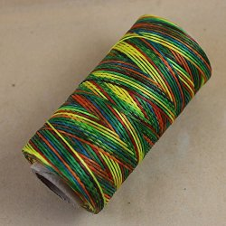 WellieSTR Rainbow Colour Leather Craft Sewing Waxed