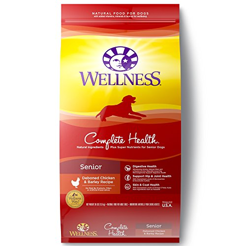 Wellness Complete Health Natural Dry Senior Dog Food