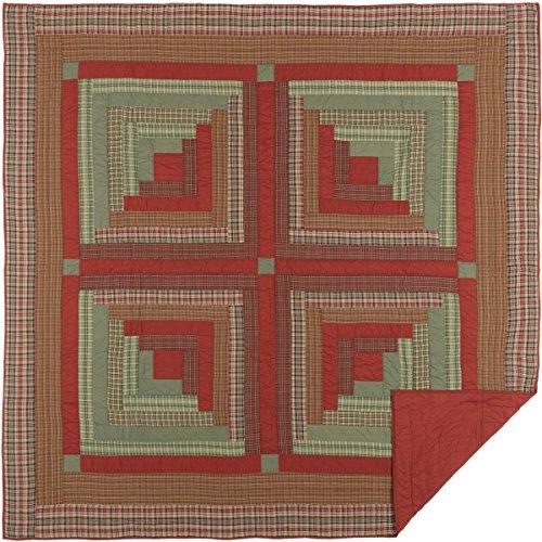 VHC Brands Seasonal Bedding Gatlinburg Red Quilt