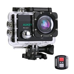 [Upgraded Version] AUKEY Action Camera, 4K Ultra HD Waterproof Underwater