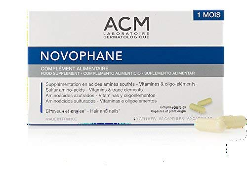 ACM Laboratoire Novophane Caps Anti Hair Loss Alopecia Treatment