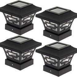 Westinghouse Hilltop 20 Lumens Solar Fence Post Cap Lights