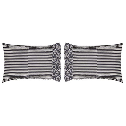 VHC Brands Elysee Pillow Case Set of 2