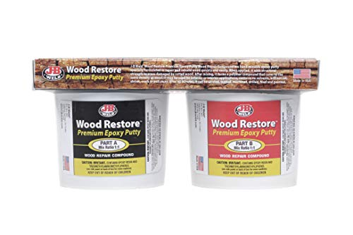 J-B Weld Wood Restore Premium Epoxy Putty Kit
