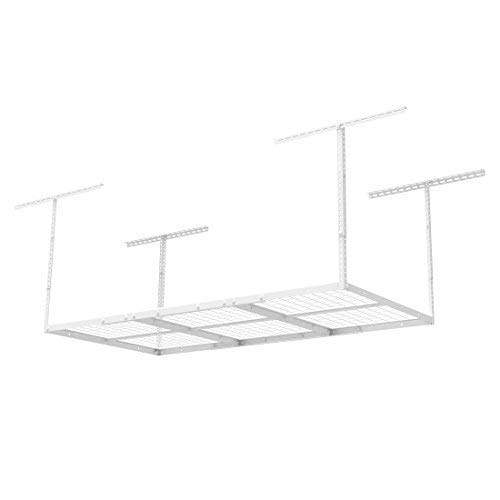 FLEXIMOUNTS 3x6 Overhead Garage Storage Adjustable Ceiling Storage Rack