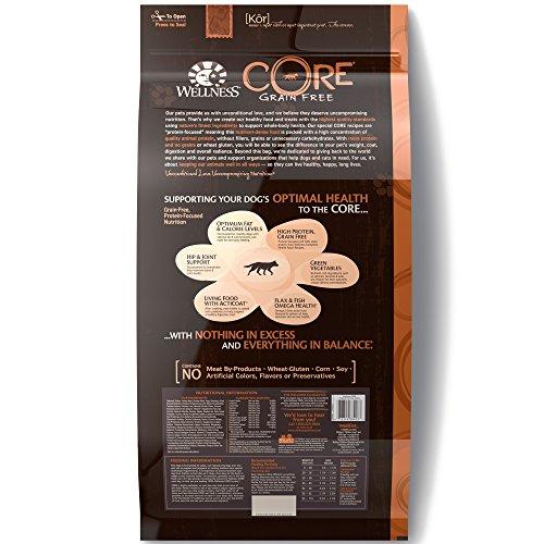 Wellness Core Natural Grain Free Dry Dog Food, Original Turkey Wellness Core Natural Grain Free Dry Dog Food, Original Turkey & Chicken, 26-Pound Bag.