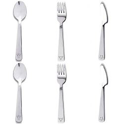Boon Earthie 2 Set small stainless steel 6 in flatware utensils sets