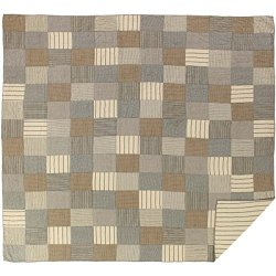 VHC Brands Farmhouse Bedding - Sawyer Mill Grey Quilt