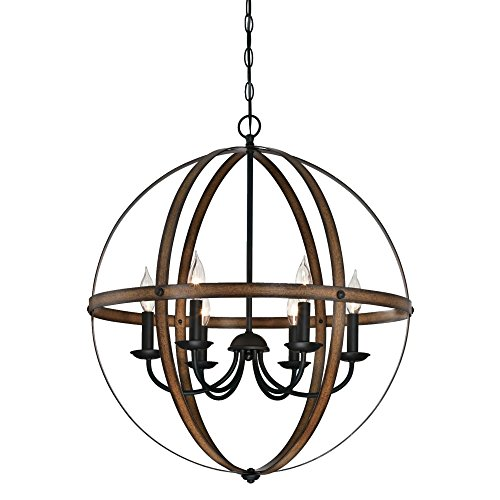Westinghouse Lighting Stella Mira Six-Light Indoor Chandelier
