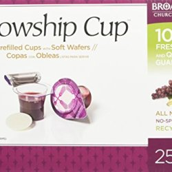 Fellowship Cup Communion Wafer & Juice