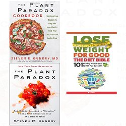 Plant paradox,cookbook [hardcover] and lose weight for good diet