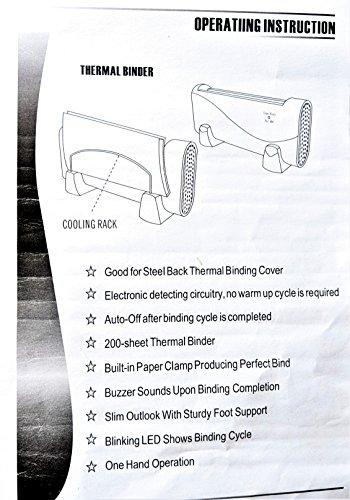 ThermoBind - Medium Duty Universal Thermal Binding Machine ThermoBind TB240S - Medium Duty Universal Thermal Binding Machine.
