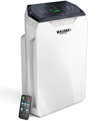 WAGNER Switzerland Air Purifier HM886 for Large Rooms