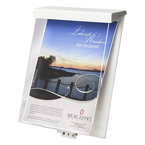 Clear-Ad - Acrylic Waterproof Outdoor Brochure Holder