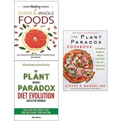 Plant paradox cookbook [hardcover] and anomaly diet and hidden healing powers