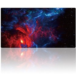 """AliBli Large Gaming Mouse Pad XXL Extended Mat Desk Pad Mousepad Long Non-Slip Rubber Mice Pads Stitched Edges 47.2""""x15.7"""" (120cm-40cm-031anying)"""