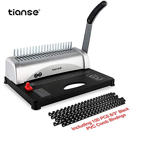 Binding Machine, 21-Hole, 450 Sheet, Comb Binding Machine