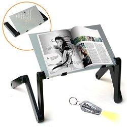 QuickLIFT Book & Magazine Portable Stand with Easy Set-Up
