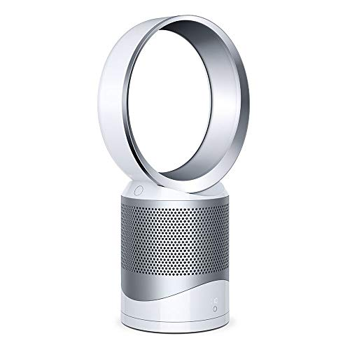 Dyson DP01 Pure Cool Purifier with Fan, Iron/White