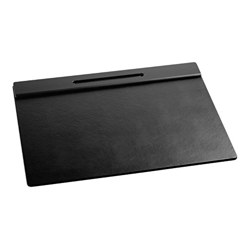 Rolodex Wood Tones Collection Desk Pad, Black (62540)