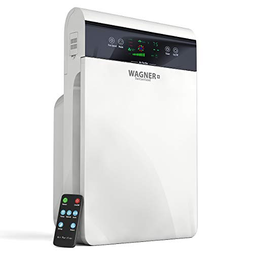 WAGNER Switzerland Air Purifier for Large Rooms Removes Mold