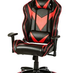 Halter Pro League Gaming Chair - Racing Game Chair w/Adjustable Height