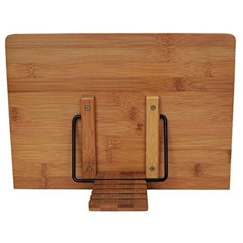 Bookaholic Bamboo Book Stand Cookbook Holder Book Rest Bookaholic Bamboo Book Stand Cookbook Holder Book Rest Reading Stands Tablet Holders: The Tool to Enjoy Reading in a Healthy Posture.