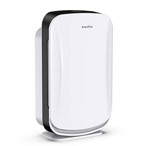Inofia Air Purifier with True HEPA Air Filter, Air Cleaner for Large Room