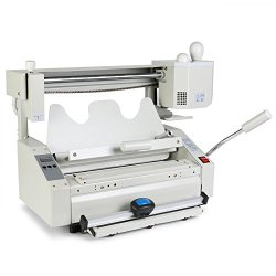 OrangeA Binding Machine Hot Glue Binder Manual Hot Melt