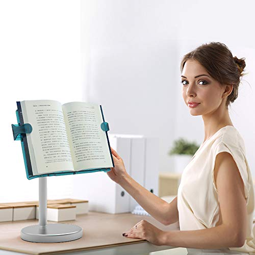 LS Hands Free Book Stand Flexible Folding Document Holder Adjustable