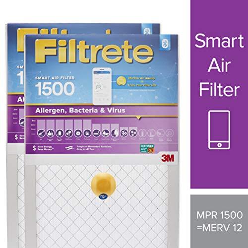 Filtrete 20x25x1 Smart Air Filter, MPR 1500, Allergen