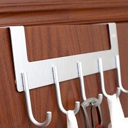 ACMETOP Over The Door Hook Hanger, Heavy-Duty Organizer for Coat