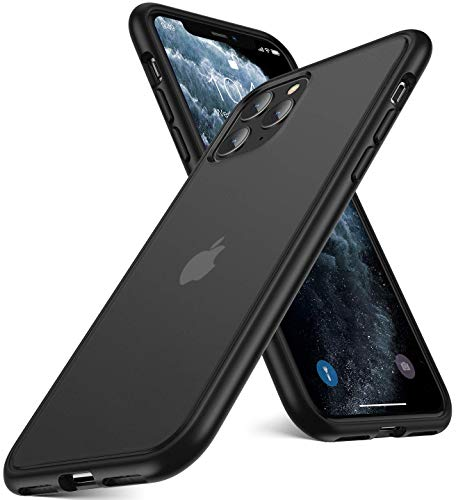 Humixx Shockproof Series iPhone 11 Pro Max Case, [Military Grade Drop Tested] [2nd Generation] Translucent Matte Case with Soft Edges, Shockproof and Anti-Drop Protection Case for iPhone 11 Pro Max
