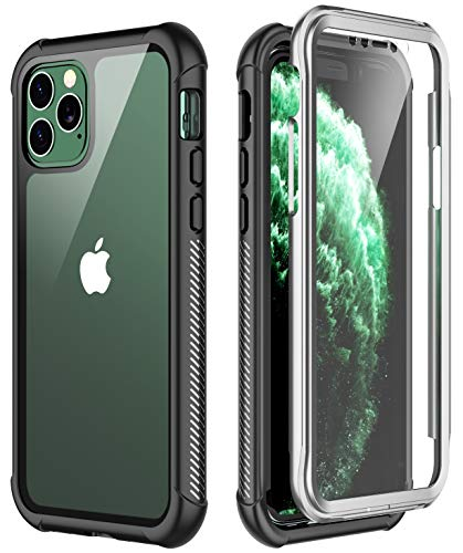 SPIDERCASE iPhone 11 Pro Max Case, Built-in Screen Protector Full Heavy Duty Protection Shockproof Anti-Scratched Rugged Case for iPhone 11 Pro Max 6.5 inch 2019