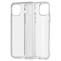 tech21 Studio Colour Pro Max Pure Clear Mobile Casing - Compatible with iPhone 11 Pro Max - Ultra Thin, Crystal Clear with Anti-Microbial Properties and Drop Protection, Clear